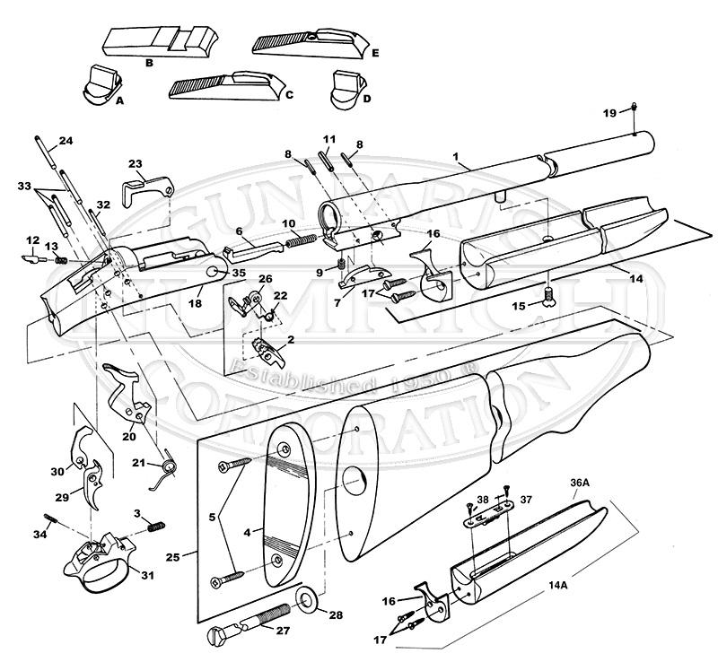 158 H Amp R Accessories Numrich Gun Parts