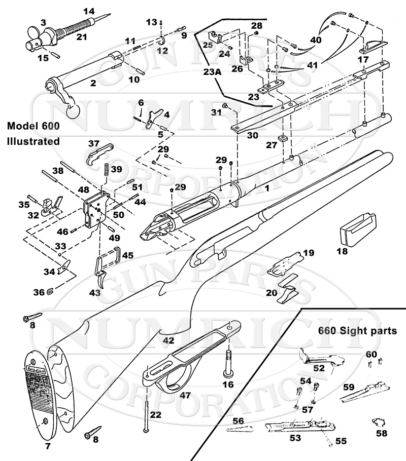 Parts Numrich Gun Schematic Below This Is A Of The Old Model 60 From: Brent Mason Wiring Diagram At Johnprice.co